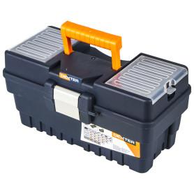 Ящик для инструмента Dexter Formula A Alu300 374х189х198 мм, пластик, цвет синий