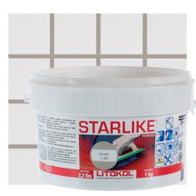Затирка эпоксидная Litochrom Starlike C220, 1 кг, цвет светло-серый