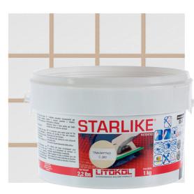 Затирка эпоксидная Litochrom Starlike C290, 1 кг, цвет светло-бежевый
