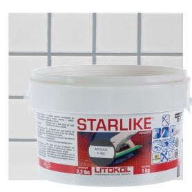 Затирка эпоксидная Litochrom Starlike C480, 1 кг, цвет серебристо-серый