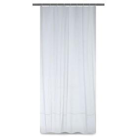 Тюль на ленте «Elizabet» 250х260 см лён цвет белый