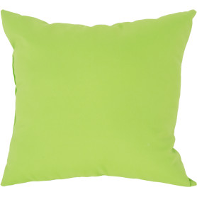 Подушка декоративная «Радуга» 40х40 см цвет салатовый