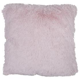 Подушка декоративная 40х40 см цвет розовый