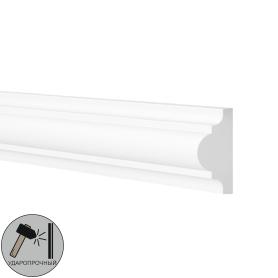 Молдинг настенный ударопрочный 200 см WL1 цвет белый