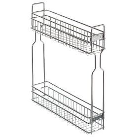 Бутылочница с доводчиком в нижний шкаф 15 см