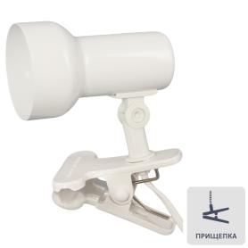 Светильник на прищепке 1xE14 R50, цвет белый