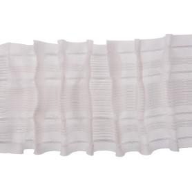 Лента шторная параллельная многофункциональная 80 мм цвет белый
