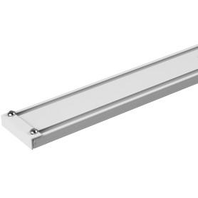 Шина алюминиевая двухрядная «Atlant» 280 см алюминий цвет белый