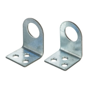 Проушина для замка угловая Pzu 25х45х30х2 мм, 2 шт.