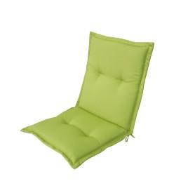 Подушка для стула зелёная 92х48х5 см, полиэстер