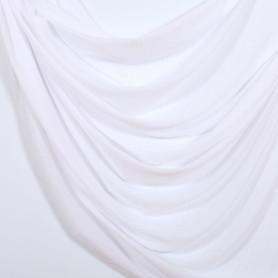 Тюль «Дождь» 1 п/м 300 см однотон цвет белый