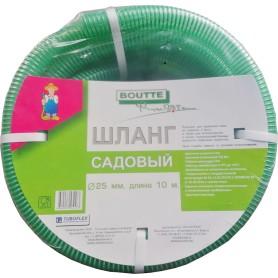 Шланг садовый напорно-вакуумный BOUTTE 25 мм 10 м, ПВХ