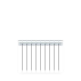 Радиатор Rifar В 500 10 секций нижнее подключение, биметалл