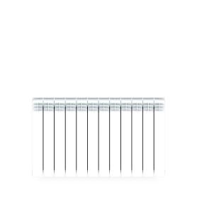Радиатор Rifar В 500 12 секций нижнее подключение, биметалл