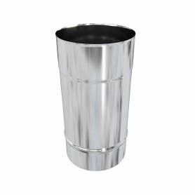 Дымоход 115х0.5 мм 0.25 м нержавеющая сталь