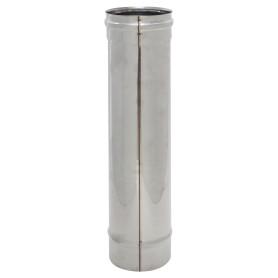 Дымоход 120x0.5 мм 0.5 м нержавеющая сталь