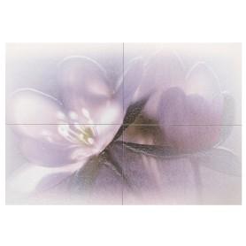 Панно «Лила ПН7ЛЛ1» 72.8х49.8 см цвет фиолетовый
