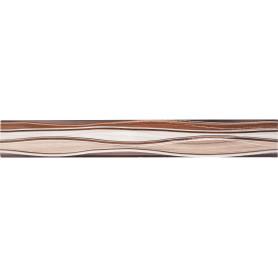 Бордюр «Плессо БД53ПЛ406» 50х6.7 см цвет коричневый
