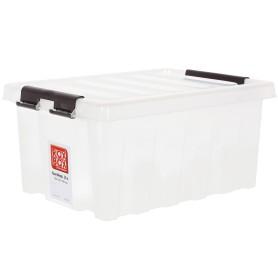 Контейнер Rox Box 41х30x19 см, 16 л, пластик цвет прозрачный с крышкой