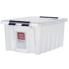 Контейнер Rox Box 50х39х25 см, 36 л, пластик цвет прозрачный с крышкой