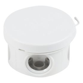 Коробка распределительная круглая TDM 65х40 мм цвет серый, IP54