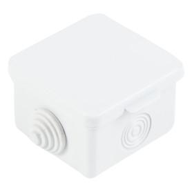 Коробка распределительная TDM 65х65х50 мм цвет серый, IP54