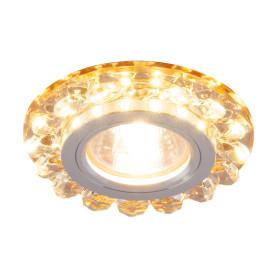 Спот встраиваемый Tesoro, GU5.3, 50 Вт, цвет золото