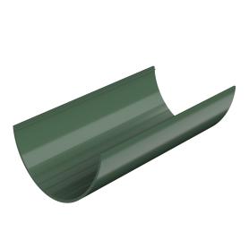 Желоб водосточный 125x3000 мм цвет зелёный