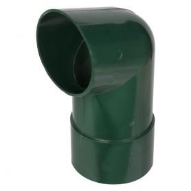 Отвод для трубы 82 мм цвет зелёный