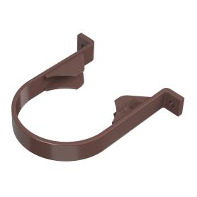 Хомут для водосточной трубы 82 мм цвет коричневый