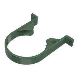 Хомут для водосточной трубы 82 мм цвет зелёный