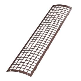 Сетка для защиты желоба 0.61 м цвет коричневый