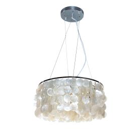 Светильник подвесной Eurosvet Пена, 4 лампы, 20 м², цвет хром