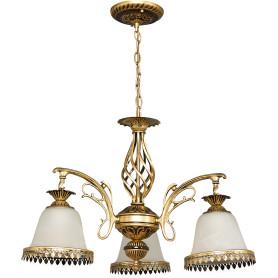 Люстра подвесная Favourite «Capella», 3хЕ27х60 Вт, цвет бронза