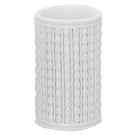 Стакан для зубных щёток настольный «Classic» цвет белый
