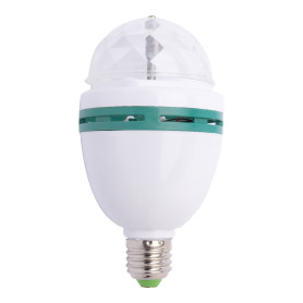 Лампа светодиодная Volpe Disco E27 3 Вт свет RGB
