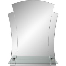 Зеркало «Лотос» с полкой 44х58 см