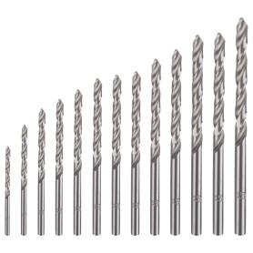 Набор свёрл по металлу HSS-G 13 шт. Dexter SM477, 1.5-6.5 мм