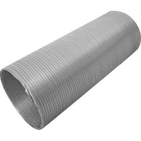 Канал гибкий ЭРА, D120 мм, 0,75-3 м