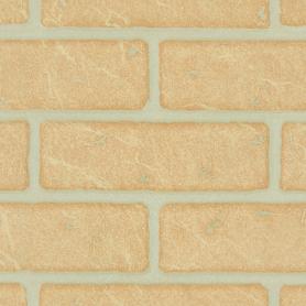 Панель МДФ Кирпич жёлтый 2440x1220 мм, 2.98 м2
