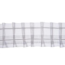 Лента шторная Placido с карандашными складками 50 мм цвет прозрачный