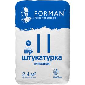 Штукатурка гипсовая Forman №11 28 кг