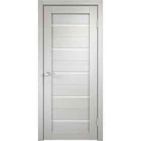 Дверь межкомнатная Дюплекс 60x200 см, ПВХ, цвет белёный дуб