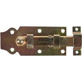Задвижка 100х44 мм, сталь оцинкованная