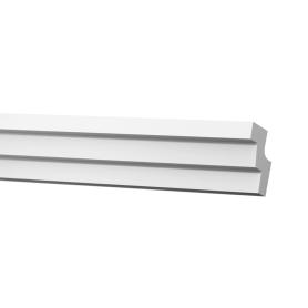 Плинтус потолочный С02/30 200х2.8 см цвет белый