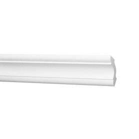Плинтус потолочный экструдированный полистирол белый Inspire С06/30 3х3х200 см цвет белый