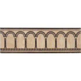 Бордюр «Efes coliseum» 7.7x25 см цвет бежевый