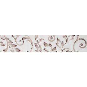 Бордюр «Флориан» 40х8.4 см цвет белый