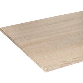 Деталь мебельная 2700х500х16 мм ЛДСП, цвет дуб сонома, кромка с длинных сторон