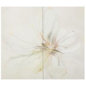 Панно «Оникс Бабочка 1» 25x50 см цвет салатный